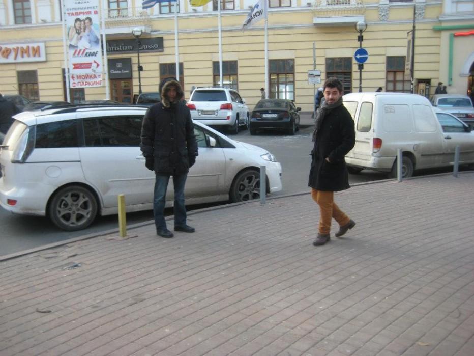 Odessa' da bir Türk
